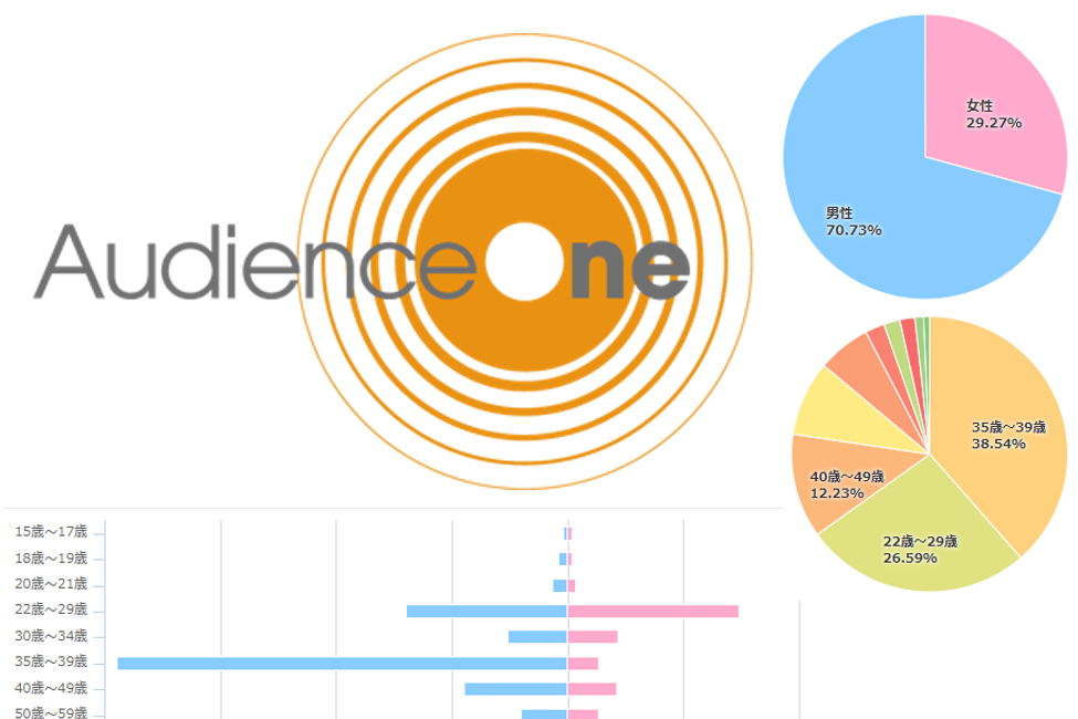 AudienceOneでデータ分析するには ーレポートの使い方を詳しく解説!ー