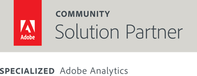 Adobe Solution Partner Community badge add Specialized Adobe Analytics