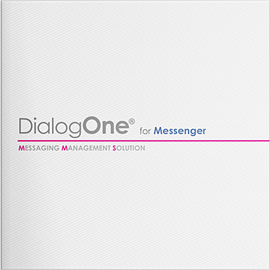 DialogOne® for Messenger ご紹介資料