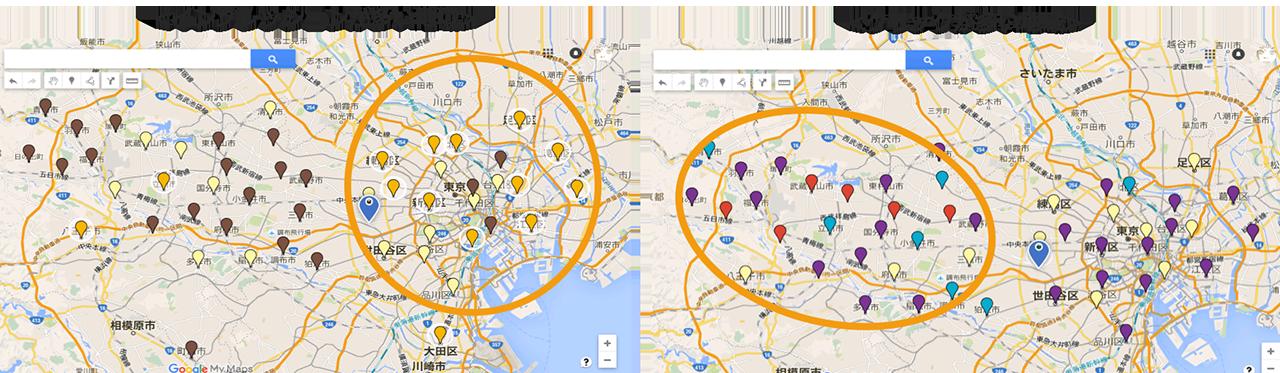 ユースケース②:広告施策の地域別反応分析